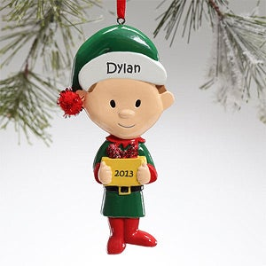 Little Brother Personalized Christmas Ornaments - 12682