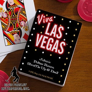 Personalized Playing Cards - Viva Las Vegas - 12691