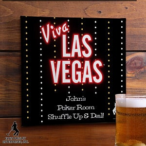 Personalized Bar Art - Elvis Viva Las Vegas - 12693