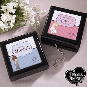 Personalized Precious Moments First Communion Keepsake Box - 12697