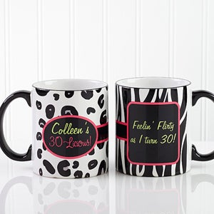 Personalized Ladies Coffee Mug - Flirty-Licious - 12701
