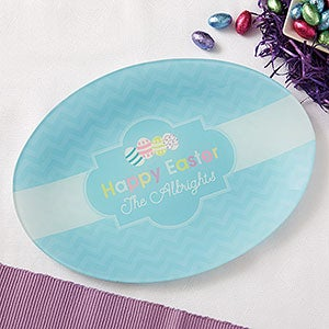 Personalized Platter - Happy Easter - 12710