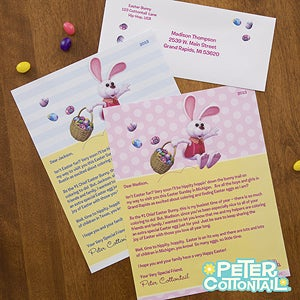 Personalized Easter Letter from Peter Cottontail - 12720