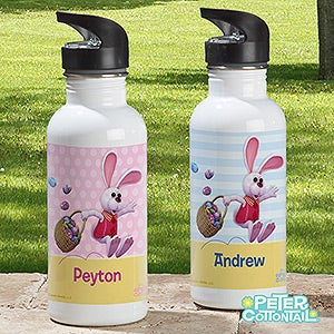 Personalized Kids Water Bottles - Petter Cottontail - 12721