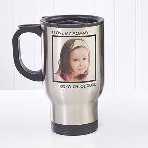 Personalized Photo Travel Mugs - Picture Perfect - 12733
