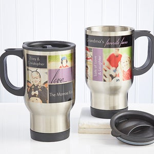 My Favorite Faces Photo Travel Mug