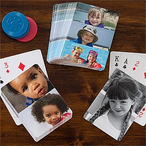 Personalized Playing Cards - Photo Collage - 12759