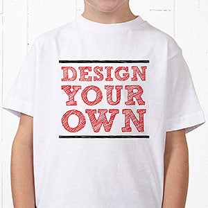 drop shipping clear-cut texture 2019 authentic Design Your Own Custom Kids T-Shirts
