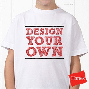 design your own custom kids t shirts