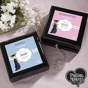 Personalized Graduation Keepsake Box - Precious Moments - 12811