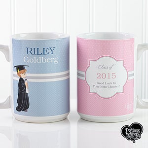 Personalized Graduation Coffee Mugs - Precious Moments - 12812