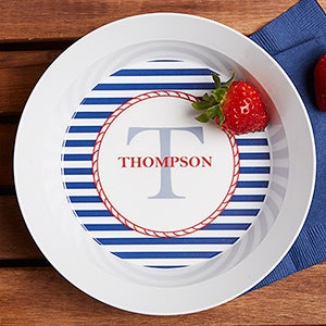 Personalized Melamine Bowls Nautical For The Home