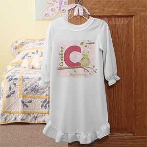 Personalized Kids Clothing for Girls - Owl About You - 12837