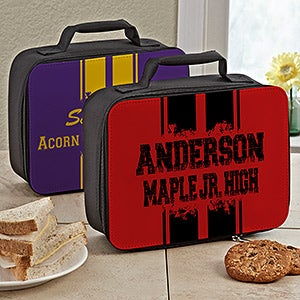 Personalized Lunch Box - School Spirit - 12861