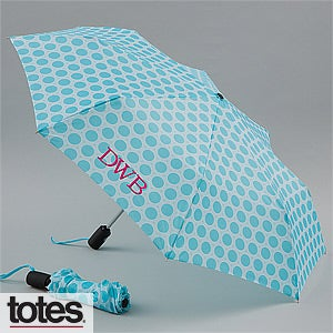 Personalized Umbrella with Monogram - French Circle - 12866