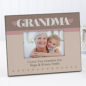 personalized picture frames for mom grandma special lady 12874
