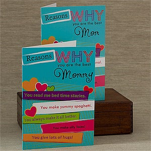 Personalized Greeting Cards - Reasons Why You're The Best - 12880