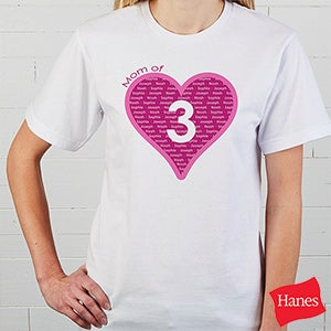 Personalized Shirts & Apparel - Mommy Of - 12881