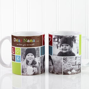 Personalized Picture Collage Coffee Mug - Photo Fun - 12884