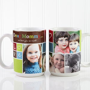 Personalized Picture Collage Coffee Mug Photo Fun 12884