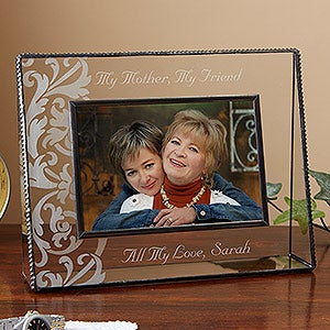 Personalized Glass Picture Frames - Sweet Sentiments - 12909