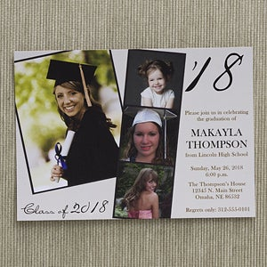 Personalized photo graduation party invitations refined graduate personalized photo graduation party invitations refined graduate 12947 filmwisefo