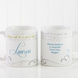 Personalized Coffee Mugs - Cup of Inspiration - 12972