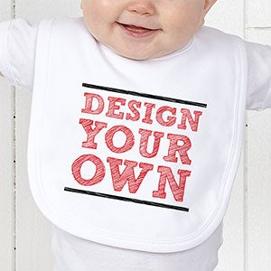 Design Your Own Custom Baby Bibs - 12992