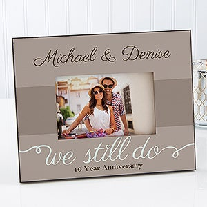personalized anniversary picture frames we still do 13010