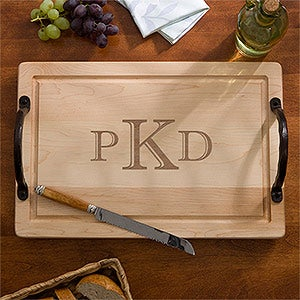"Personalized Maple Cutting Board - 18"" - 13070D"