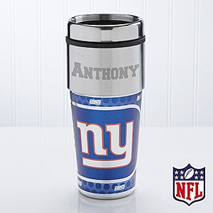 Personalized NFL Football Travel Mug - New York Giants - 13125