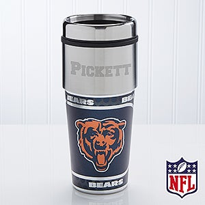 Chicago Bears Personalized NFL Football Travel Mug - 13127