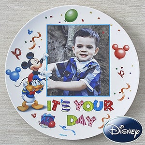 Personalization Mall Personalized Disney Birthday Plates - Mickey Mouse & Donald Duck at Sears.com