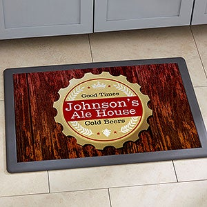 Personalized Bar Doormats - Premium Brew - 13151