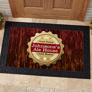 Personalized Bar Doormats - Premium Brew - 13151