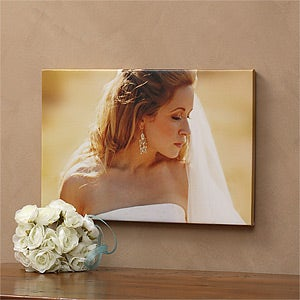 Custom Photo Canvas Print - Wedding Memories - 1316