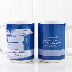 Personalized Teacher Coffee Mugs - Teacher Professions - 13172