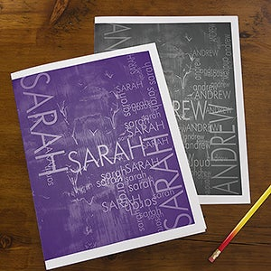 Personalized Kids Folders - Hidden Name - 13246