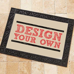 Design Your Own Custom Personalized Doormats - 13289