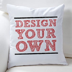 Design Your Own Custom Keepsake Pillows - 13290