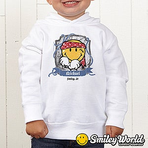 Personalization Mall Personalized Toddler Sweatshirts - Pirate Smiley Face at Sears.com