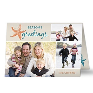 Personalized Photo Christmas Cards - Tropical Paradise - 13321