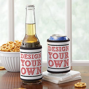 Design Your Own Custom Can Wrap & Bottle Wrap - 13323