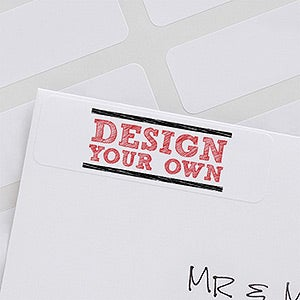 design address labels