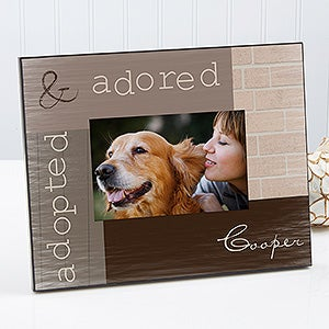 personalized pet picture frames adopted pet 13337 - Dog Frames
