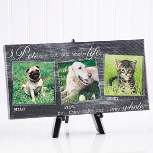 Personalized Pet Photo Canvas Prints - My Pets - 13340