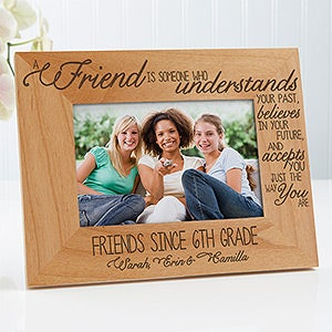 personalized picture frames friends forever 13355