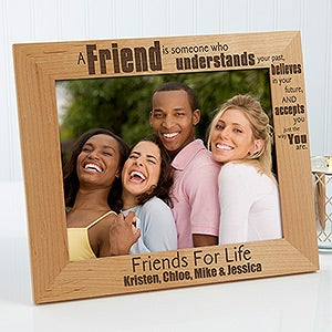 Personalized Friends Forever Picture Frames 8x10 For Her