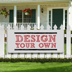 Custom Vinyl Banners - Design Your Own - 13397