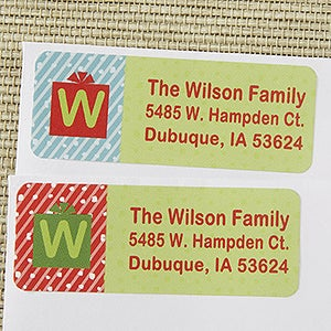 Personalized Christmas Address Labels - Most Wonderful Time - 13406